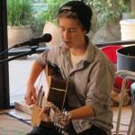 Samantha singing her songs