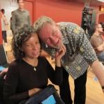 Gladys Serrano and Tom Hamilton