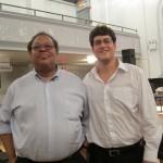 George Lewis and Sam Pluta