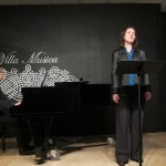 Chris Adler and Stephanie performing  Messiaen
