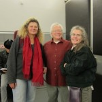 Mary Rowell, Fred and Carol Sherry
