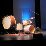 Tyshawn's drum set
