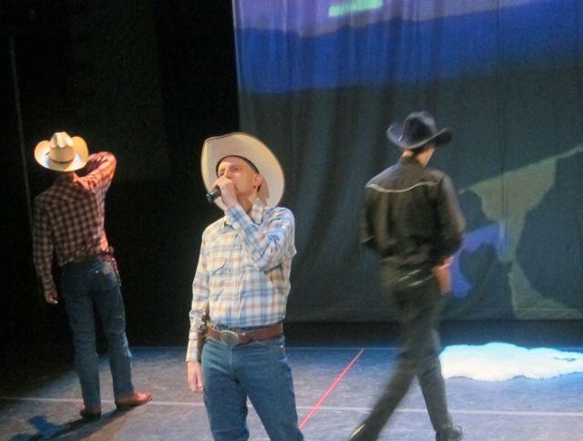 The Kid (Wil), Kim Carsons (Corey) The Sheriff (Oleg)