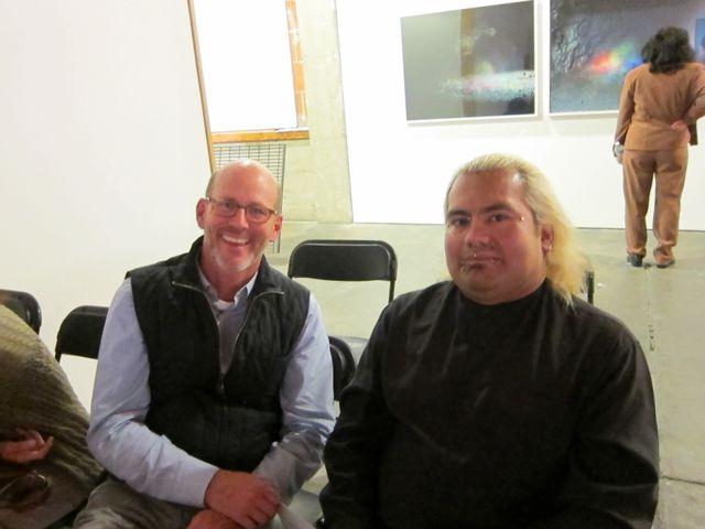 Marty Wollesen and Oscar Gerardo