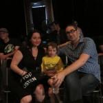 Mellissa Hughes, son Jackson, Matt Marks