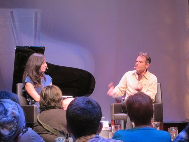 Deborah Treisman interviewing Denis Johnson