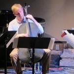 Alex Waterman and his Carbon Fiber cello