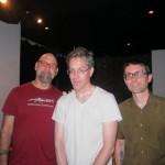 Bob Ostertab, Wobbly and Seth Horvitz