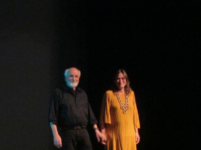 Morton Subotnick and Sue C.