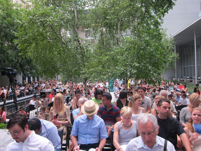 Summergarden concert at MoMA