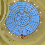 Guggenheim&#039;s exquisite ceiling